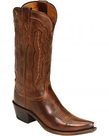 Lucchese Handcrafted 1883 Grace Cowgirl Boots - Snip Toe