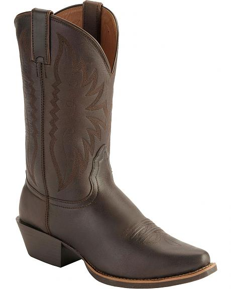 Nocona Competitor Western Cowgirl Boots - Snip Toe