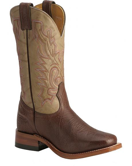 Boulet Dusty Tumbleweed Cowgirl Boots - Square Toe