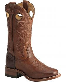 Boulet Italian Lamb Cowgirl Boots - Square Toe