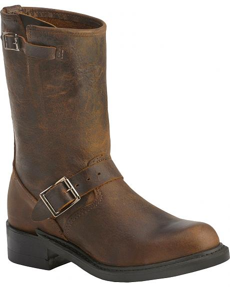 Boulet Motorcycle Harness Boots - Round Toe