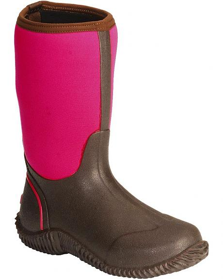 Smoky Mountain Pink Neoprene Waterproof Rain Boots