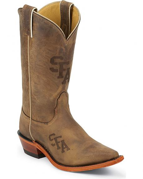 Nocona Stephen F. Austin University College Cowgirl Boots - Snip Toe
