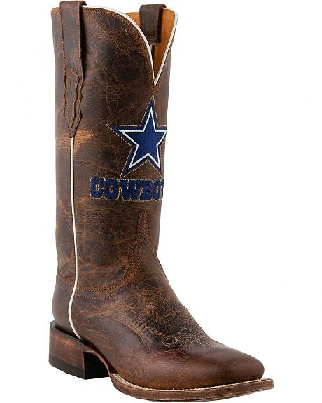 Lucchese 1883 Madras Goat Dallas Cowboys Cowgirl Boots - Square Toe