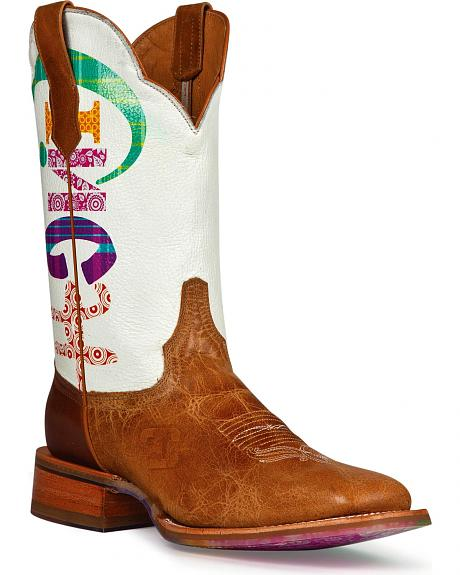 Cinch Edge Marquee Cowgirl Boots - Square Toe