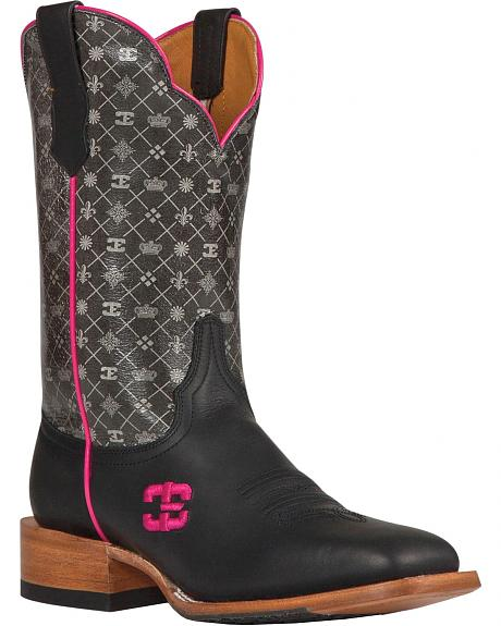 Cinch Edge 5th Avenue Cowgirl Boots - Square Toe