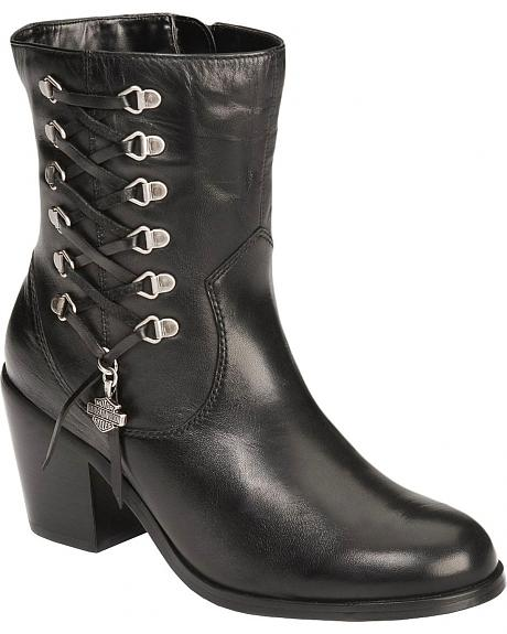 Harley Davidson Alanis Motorcycle Boots