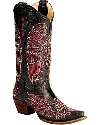 Rhinestone Studded Cowgirl Boots