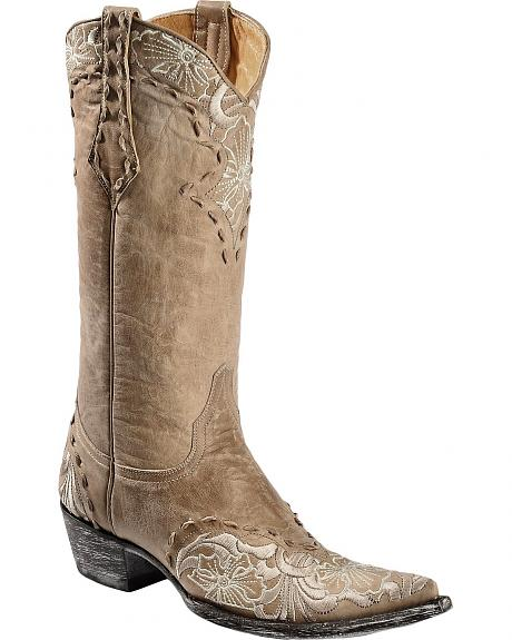 Old Gringo Erin Embroidered Cowgirl Boots - Pointed Toe