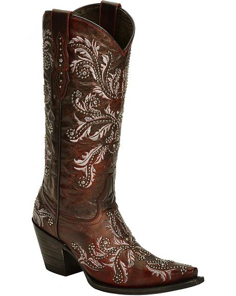 Lucchese Handcrafted 1883 Angelina Cowgirl Boots - SnipToe