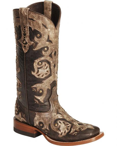 Lucchese Handcrafted 1883 Oklahoma Cowgirl Boots - Square Toe