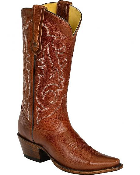 Corral Embroidered Cowgirl Boots - Snip Toe
