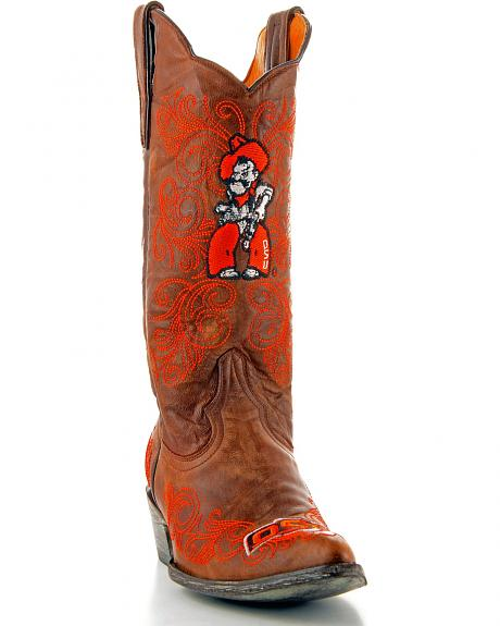 Oklahoma State University Gameday Cowgirl Boots - Pointed Toe