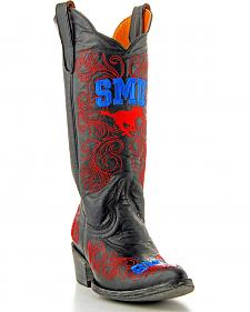 Gameday Southern Methodist University Cowgirl Boots - Pointed Toe