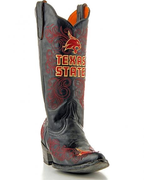 Texas State University Gameday Cowgirl Boots - Pointed Toe