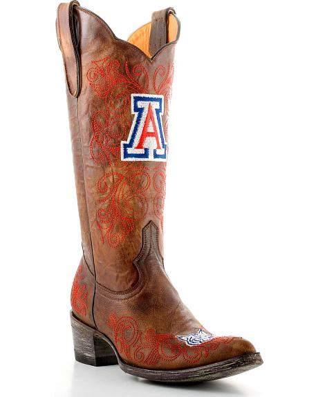 University of Arizona Gameday Cowgirl Boots - Pointed Toe