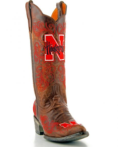 University of Nebraska Gameday Cowgirl Boots - Pointed Toe