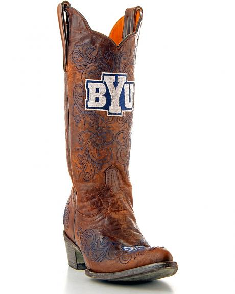 Brigham Young University Gameday Cowgirl Boots - Pointed Toe