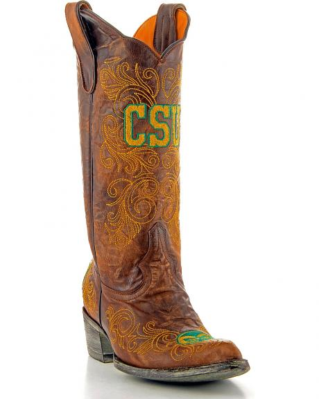 Colorado State University Gameday Cowgirl Boots - Pointed Toe