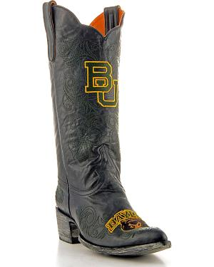 Baylor University Gameday Cowgirl Boots - Pointed Toe