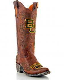 Gameday Baylor University Cowgirl Boots - Pointed Toe