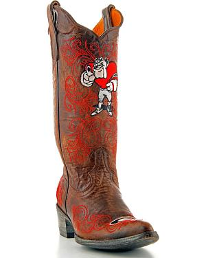 University of Georgia Gameday Cowgirl Boots - Pointed Toe