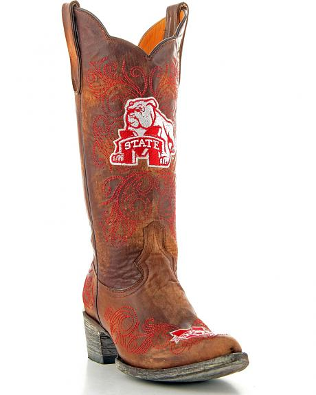 Mississippi State University Gameday Cowgirl Boots - Pointed Toe