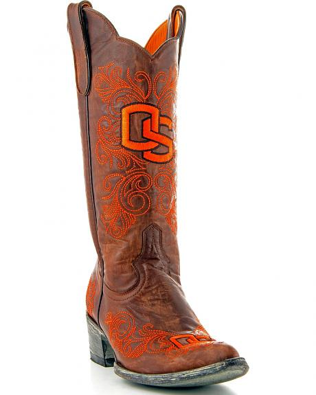 Oregon State University Gameday Cowgirl Boots - Pointed Toe