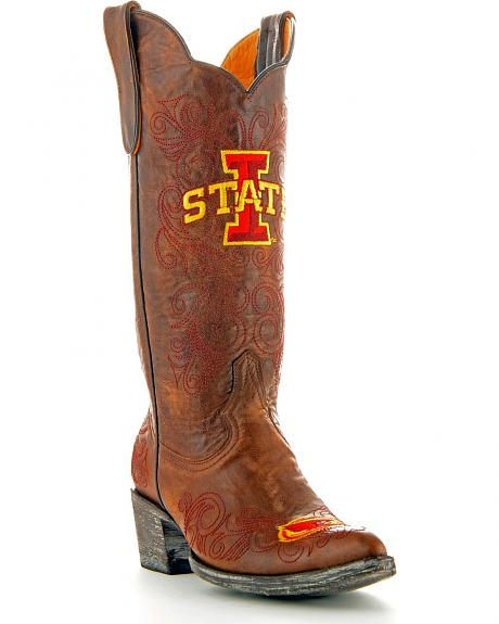 Iowa State University Gameday Cowgirl Boots - Pointed Toe