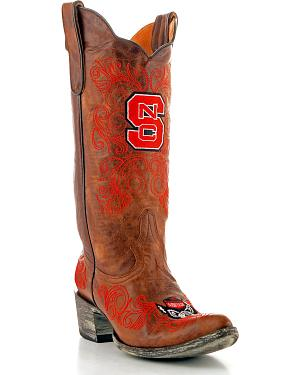 North Carolina State University Gameday Cowgirl Boots - Pointed Toe