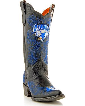 United States Air Force Academy Gameday Cowgirl Boots - Pointed Toe