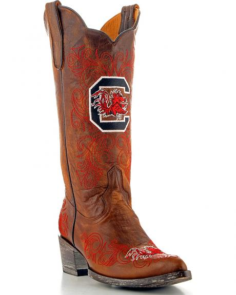 University of South Carolina Gameday Cowgirl Boots - Pointed Toe