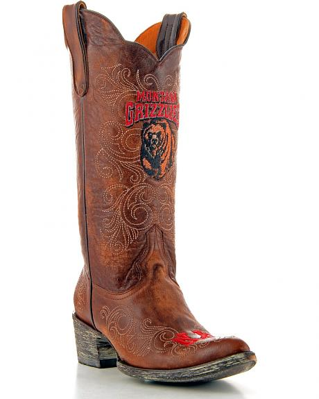 University of Montana Gameday Cowgirl Boots - Pointed Toe