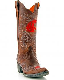 Washington State University Gameday Cowgirl Boots - Pointed Toe