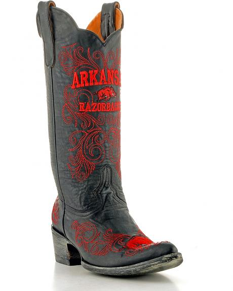 University of Arkansas Gameday Cowgirl Boots - Pointed Toe