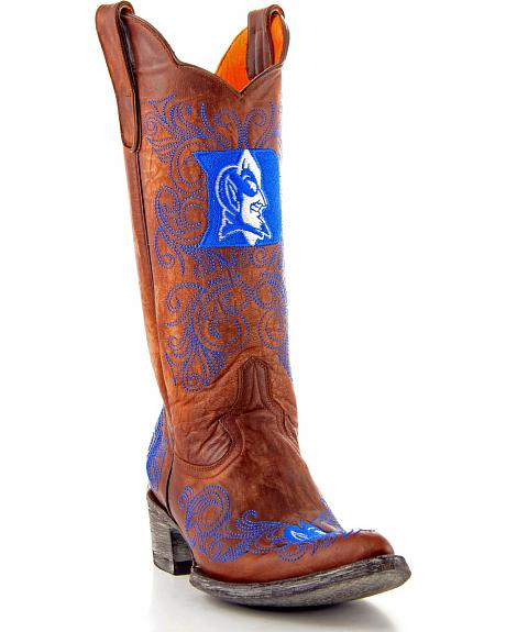 Duke University Gameday Cowgirl Boots - Pointed Toe