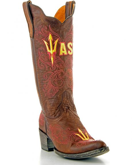 Arizona State University Gameday Cowgirl Boots - Pointed Toe