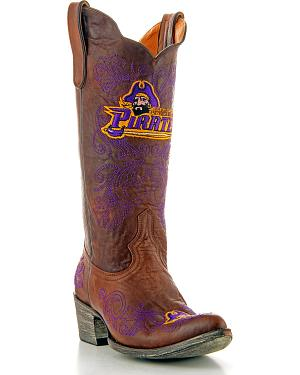 East Carolina State University Gameday Cowgirl Boots - Pointed Toe