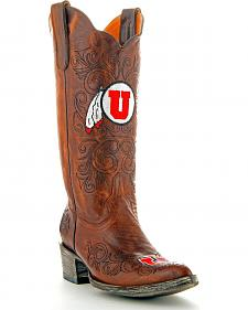 University of Utah Gameday Cowgirl Boots - Pointed Toe