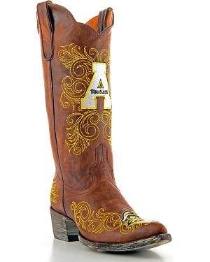 Appalachian State University Gameday Cowgirl Boots - Pointed Toe