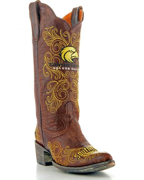 University of Southern Mississippi Gameday Cowgirl Boots - Pointed Toe