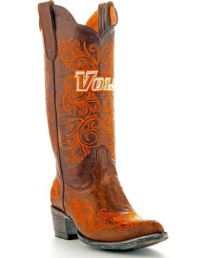 University of Tennessee Gameday Cowgirl Boots - Pointed Toe
