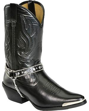 Smoky Mountain Charlotte Harness Cowgirl Boots - Pointed Toe