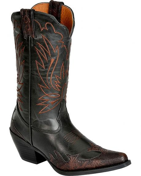 Smoky Mountain Bellaire Wingtip Cowgirl Boots - Snip Toe
