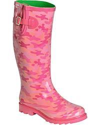 Smokey Mountain Pink Camo Rainboot at Sheplers