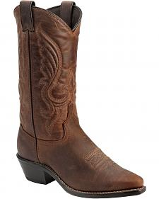 Abilene Cowhide Cowgirl Boots - Snip Toe