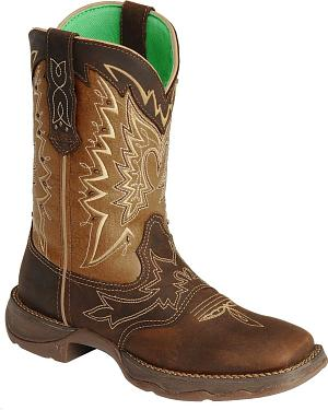 Durango Let Love Fly Rebel Cowgirl Boots - Square Toe