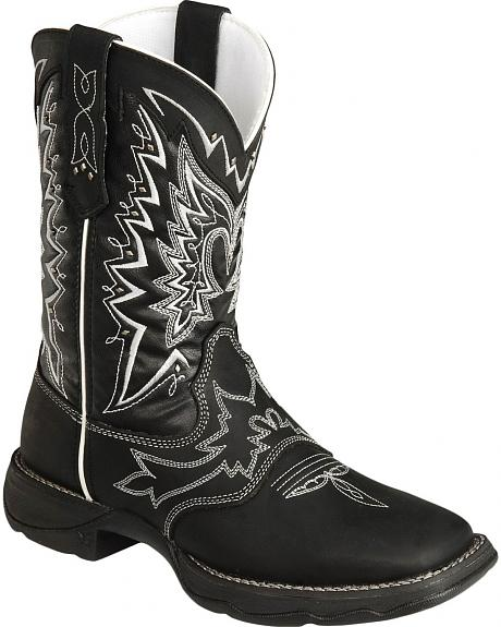 Durango Lady Rebel Cowgirl Boots - Square Toe