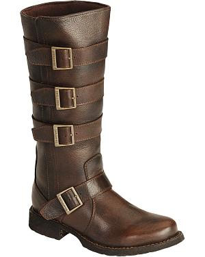 Durango Savannah with Buckles Harness Cowgirl Boots - Round Toe