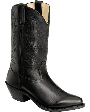 Durango Black Western Cowgirl Boots - Round Toe